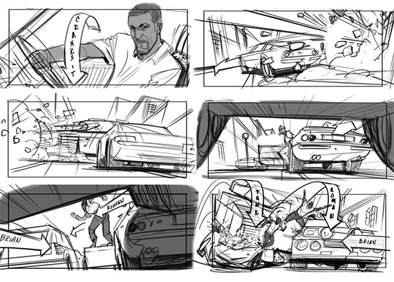 Fast  Furious   Storyboards Inc  News