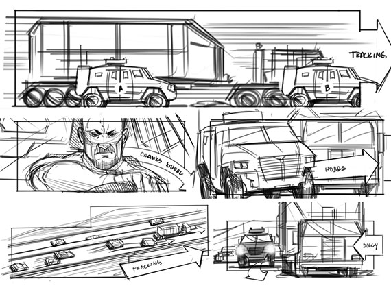Fast & Furious 6 | Storyboards Inc. | News